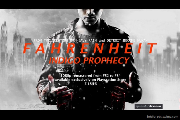 Opis gry – Fahrenheit. Indigo Prophecy Remastered